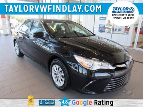 2016 Toyota Camry Hybrid for sale in Findlay, OH