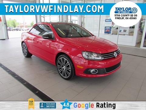 2014 Volkswagen Eos for sale in Findlay, OH