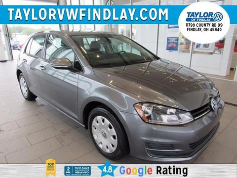 2015 Volkswagen Golf for sale in Findlay, OH