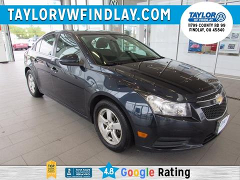 2014 Chevrolet Cruze for sale in Findlay, OH