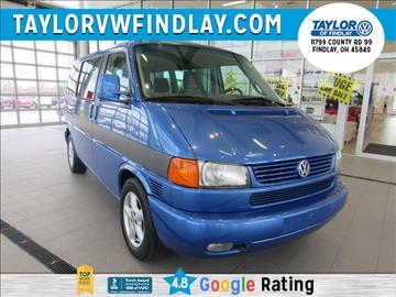 2002 Volkswagen EuroVan for sale in Findlay, OH