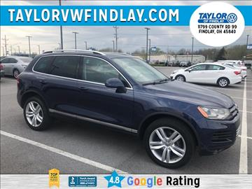 2012 Volkswagen Touareg for sale in Findlay, OH