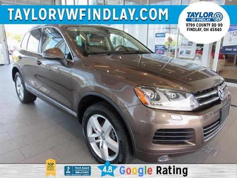 2013 Volkswagen Touareg for sale in Findlay, OH