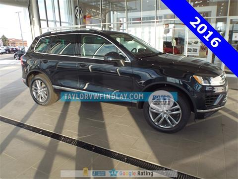 2016 Volkswagen Touareg for sale in Findlay, OH