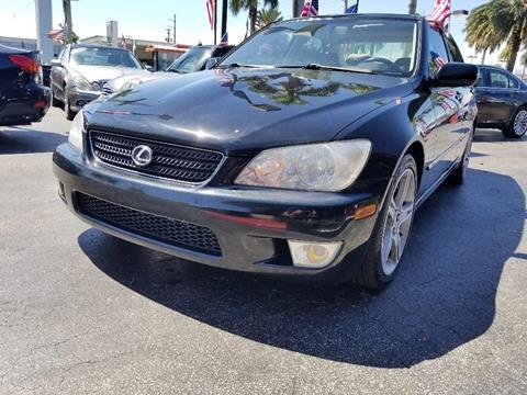 2002 Lexus IS 300 for sale in Hallandale Beach, FL