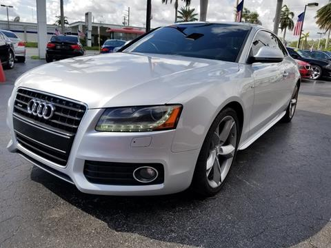 2009 Audi A5 for sale in Hallandale Beach, FL