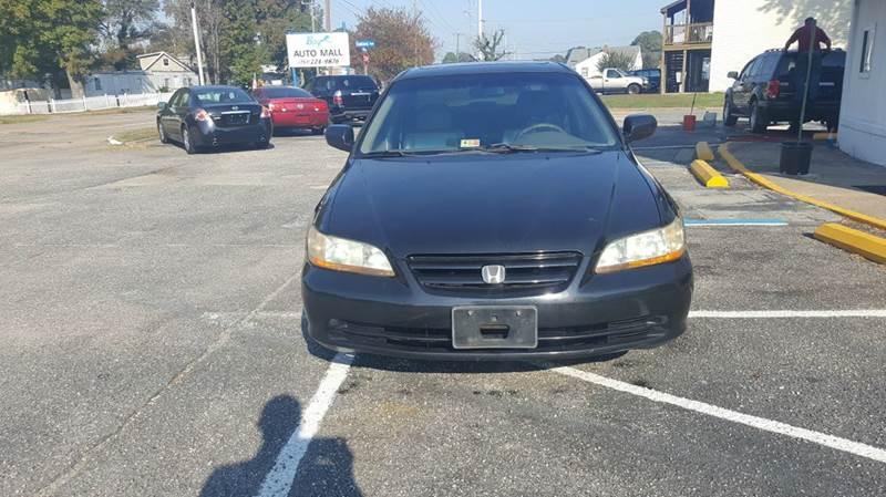 2002 Honda Accord EX V-6 4dr Sedan - Hampton VA