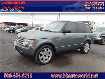 2005 Land Rover Range Rover for sale in Yakima, WA