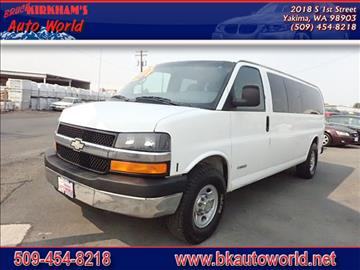 2004 Chevrolet Express Passenger for sale in Yakima, WA