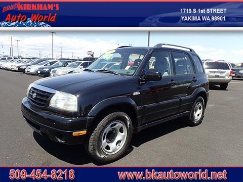 2001 Suzuki Grand Vitara for sale in Yakima, WA