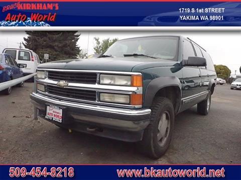 1996 Chevrolet Suburban for sale in Yakima, WA