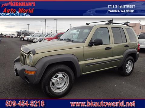 2003 Jeep Liberty for sale in Yakima, WA