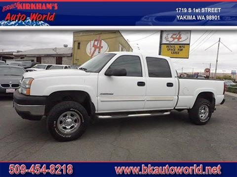 2004 Chevrolet Silverado 2500HD for sale in Yakima, WA