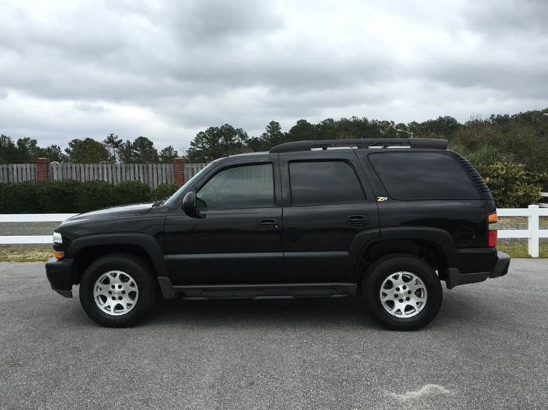 2004 chevrolet tahoe z71 z71 4wd 4dr suv in fayetteville. Black Bedroom Furniture Sets. Home Design Ideas