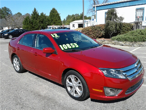 2012 Ford Fusion for sale in Fayetteville, NC