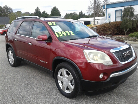 2007 GMC Acadia for sale in Fayetteville, NC