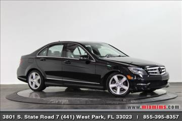 2011 Mercedes-Benz C-Class for sale in West Park, FL