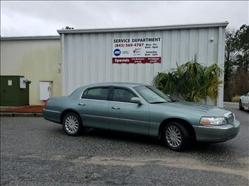 2005 Lincoln Town Car for sale in Goose Creek, SC