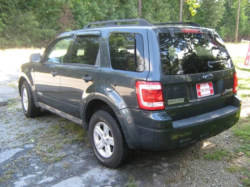 2008 Ford Escape Hybrid Base 4dr SUV - Newnan GA
