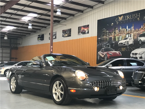2003 Ford Thunderbird for sale in Houston, TX