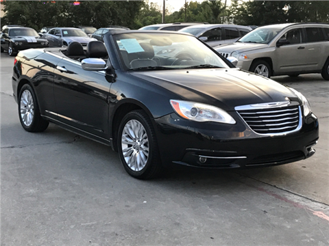 2011 Chrysler 200 Convertible for sale in Houston, TX