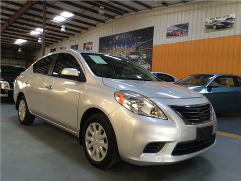 2012 Nissan Versa for sale in Houston, TX