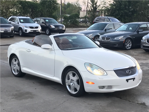 2004 Lexus SC 430 for sale in Houston, TX
