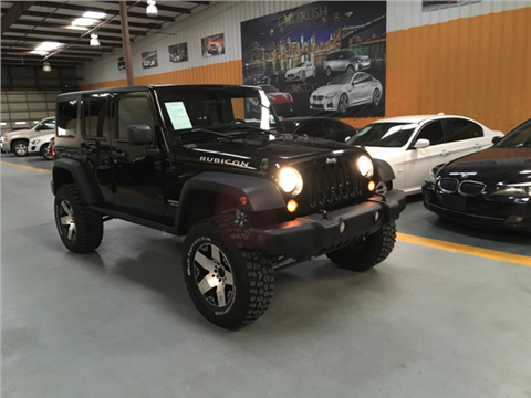 2012 Jeep Wrangler Unlimited for sale in Houston, TX