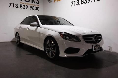 Mercedes benz e class for sale in houston tx for Mercedes benz for sale houston