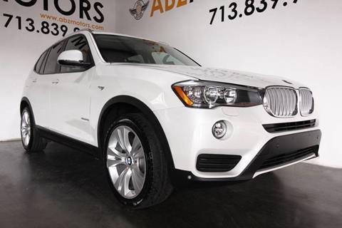 2015 BMW X3 for sale in Houston, TX