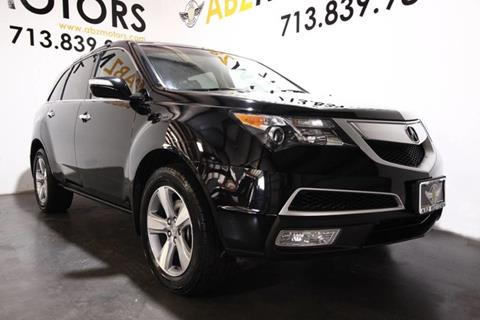 2012 Acura MDX for sale in Houston, TX
