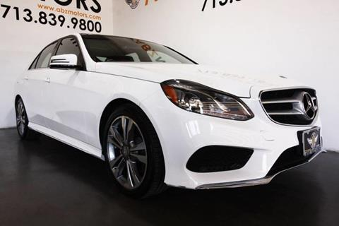2016 Mercedes-Benz E-Class for sale in Houston, TX