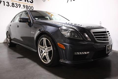 2011 Mercedes-Benz E-Class for sale in Houston, TX