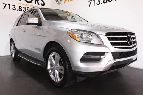 2013 Mercedes-Benz M-Class for sale in Houston, TX