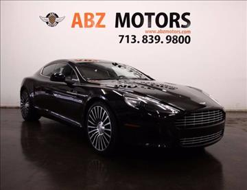 2012 Aston Martin Rapide for sale in Houston, TX