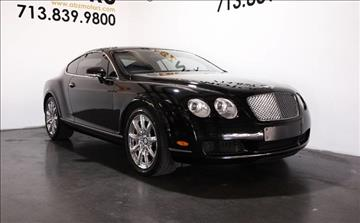 2006 Bentley Continental GT for sale in Houston, TX