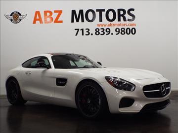 Mercedes benz amg gt for sale for Star motors mercedes houston