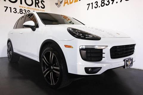 2016 Porsche Cayenne for sale in Houston, TX