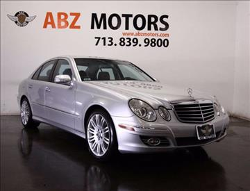 2008 Mercedes-Benz E-Class for sale in Houston, TX