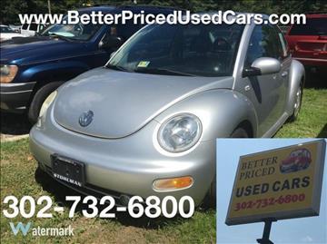 2001 Volkswagen New Beetle for sale in Frankford, DE