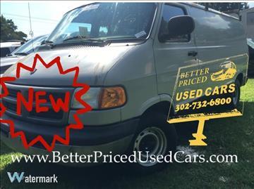 2000 Dodge Ram Van for sale in Frankford, DE