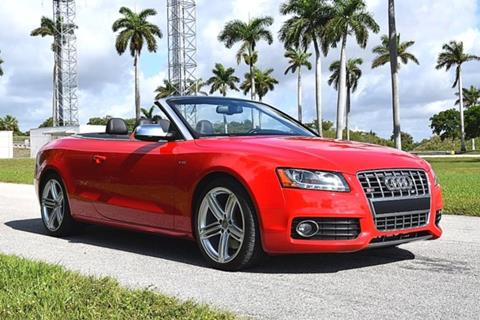 2012 Audi S5 for sale in Fort Lauderdale, FL