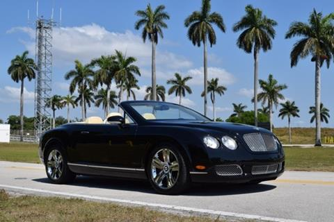 2007 Bentley Continental GTC for sale in Fort Lauderdale, FL