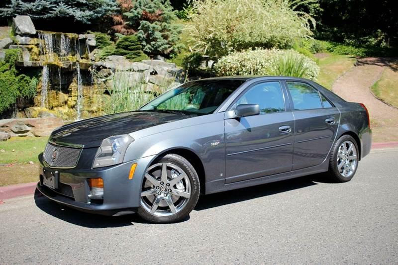 2007 Cadillac Cts-V 4dr Sedan In Kirkland WA - Mudarri Motosports