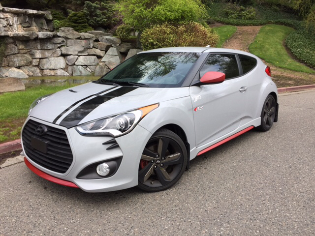 2014 Hyundai Veloster Turbo R-Spec 3dCoupe 6M w/Red Seats - Kirkland WA & 2014 Hyundai Veloster Turbo R-Spec 3dCoupe 6M w/Red Seats In ...
