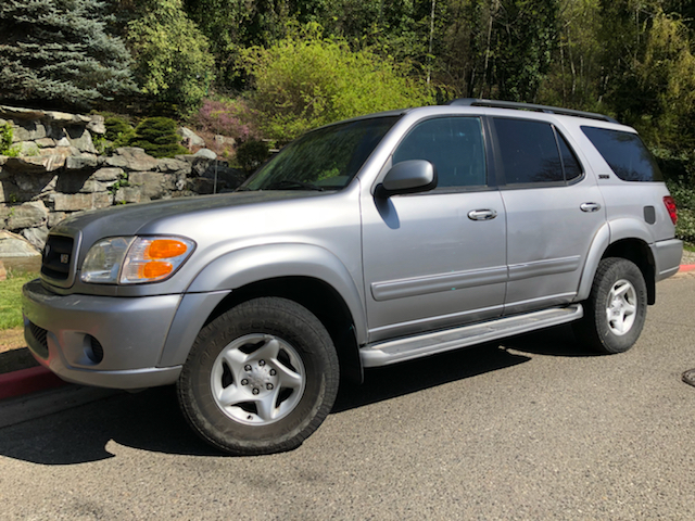 2001 toyota sequoia sr5 4wd 4dr suv in kirkland wa mudarri motosports. Black Bedroom Furniture Sets. Home Design Ideas