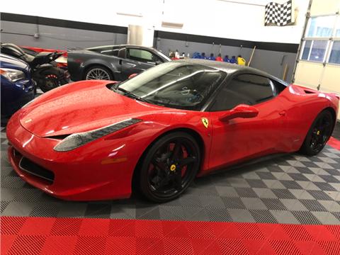 Ferrari 458 Italia For Sale in Washington - Carsforsale.com®