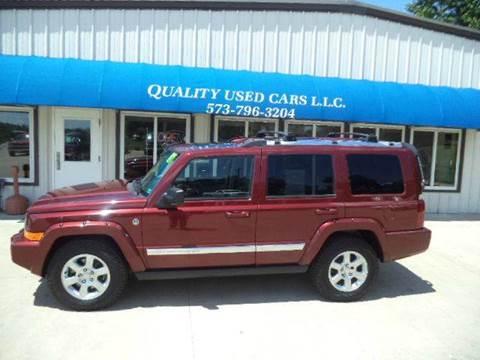 2007 Jeep Commander for sale in California, MO