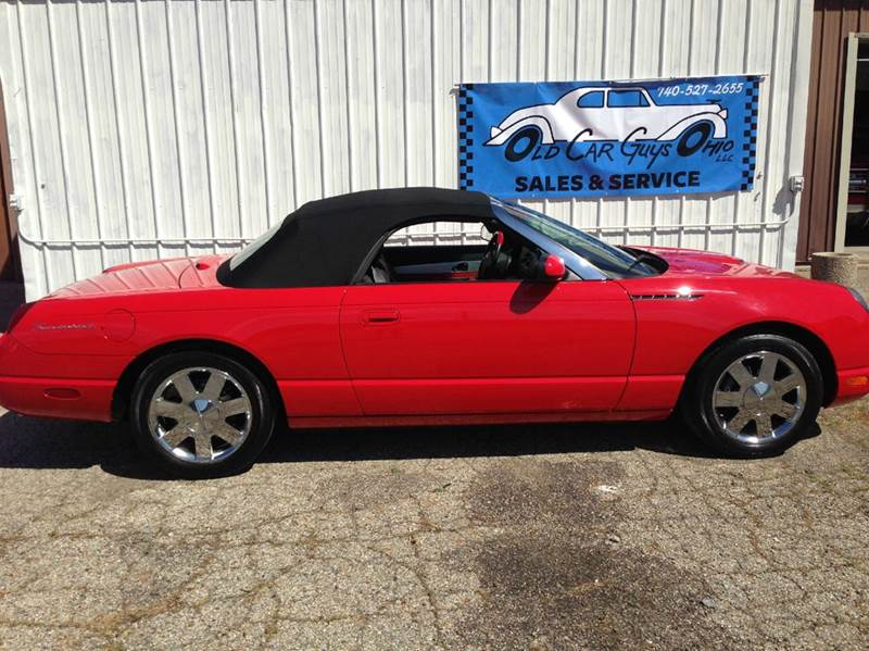 2002 Ford Thunderbird Deluxe 2dr Convertible - Heath OH