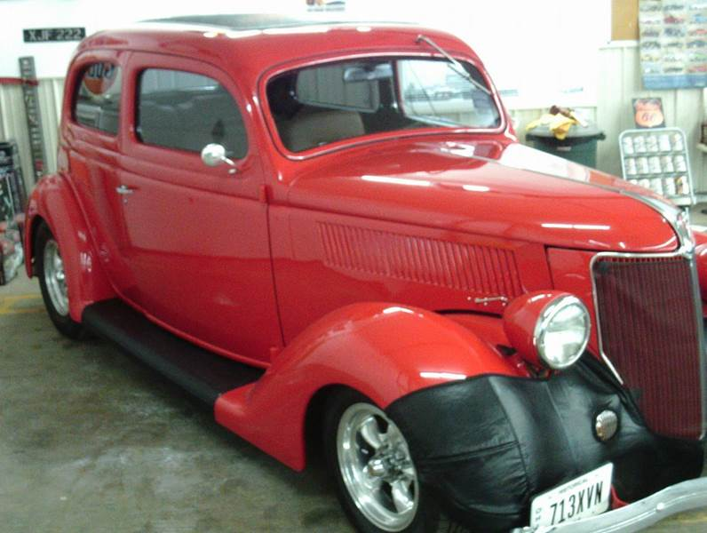 1936 Ford sedan  - Heath OH